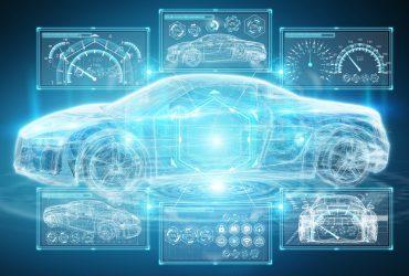 Modern,Digital,Smart,Car,Interface,Isolated,Opn,Blue,Background,3d